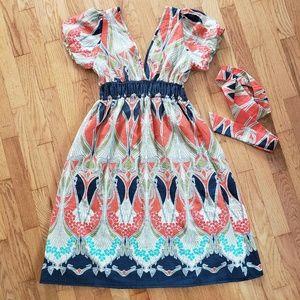 Size S high waisted dress